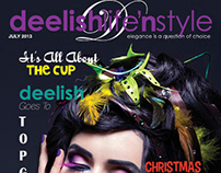Deelish Magazine July 2013 Edition