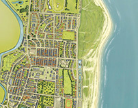 Great Yarmouth Illustrated map
