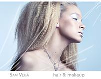 Sam Vega Hair & Makeup Comp Cards
