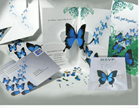 Butterfly Pop-up Invitation