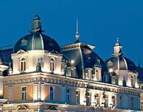 Corinthia Hotel Budapest 10 Year Anniversary Logo