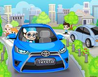 Toyata safe drive