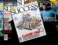 Success Magazine Editorial Design