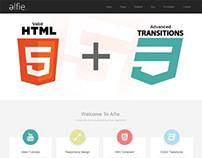 Alfie, WordPress Premium Responsive Bootstrap Theme
