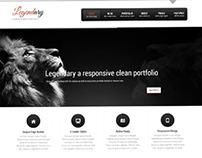 Legendary, WordPress Responsive Cortporate Theme