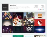 MetroFolio, WordPress Premium Portfolio Theme