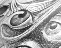 Drawing - Salvador dalì Spellbound