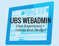 UBS Web Admin
