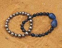 Archangel Set — Necklace and Bracelets