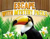 Escape with Mystery Packs - Online Contest