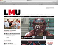 LMU Magazine Website