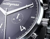 3D Wristwatch