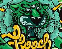 HOOCH - Herbal tobacco packaging