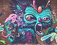 BROTHER in WALLS! (Street Art & Indoors)