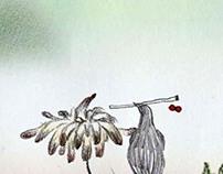 A bird who love a flower(2011)