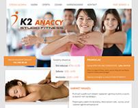 K2 Fitness Website