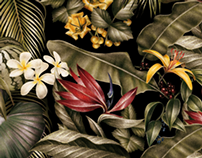 Jungle print for AMI s/s 2014