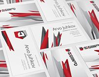 Digiinfo Business Cards design