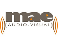 MAE Audio-visual - Logo Design