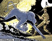 NAGAPIE ORIGINS ISSUE - a comic book