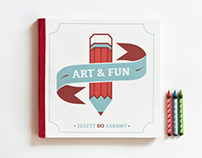 ART&FUN , book for children