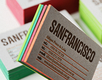 Sanfrancisco Personal Business Cards