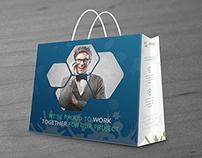 Viridx Business Shopping Bag