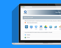 Qnext: Graphic User Interface