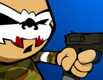 Zombie (иллюстрации для сайта)