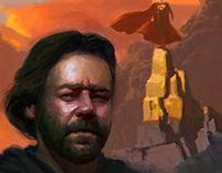 """Russell Crowe as Jor-El in the movie """"Man of Steel"""""""
