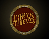 Circus Thieves - Band Website