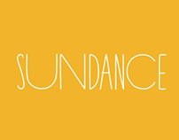 SUNDANCE FONT