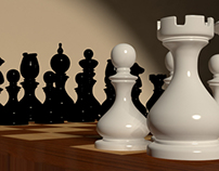 3D Chess Modeling