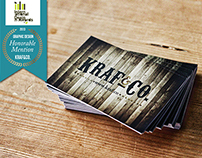 Kraf&Co. Corporate Identity