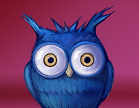 Blue Owl of Luck and Other