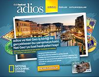 NatGeo & Adios Card - Travel Trivia Game