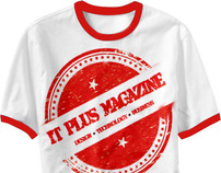 IT Plus Magazine suggest and win tshirt on facebook