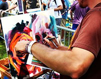 Painting: LIVE Lunar Bay Festival