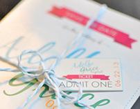 Adolfo & Grace Wedding Invitation