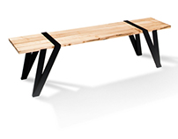 Klemmbrett Bench