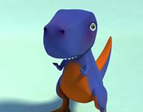 My little tiranosaurus