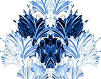 Frozen Kingdom. Textile Design