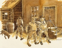 Utvalgte illustrasjoner til boka Bodøs historie bind 2