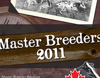 Holstein Canada   2011 Master Breeder Awards Program