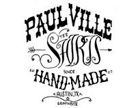 Paulville Tee Shirts Handmade since 2007