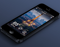iOS7 Weather App v.2
