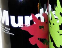 Murder Wine Labels