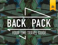 Time Travel Guide App -BACK PACK
