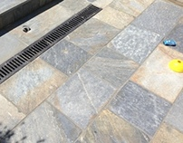 Natural Stone Terrace - Rock Solid Blue