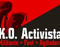 K.O. Activista font